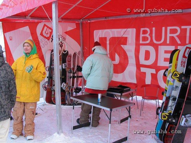 Губаха foto08.jpg Burton Demo Tour в Губахе Горнолыжный центр Губаха горные лыжи сноуборд Город Губаха Фото