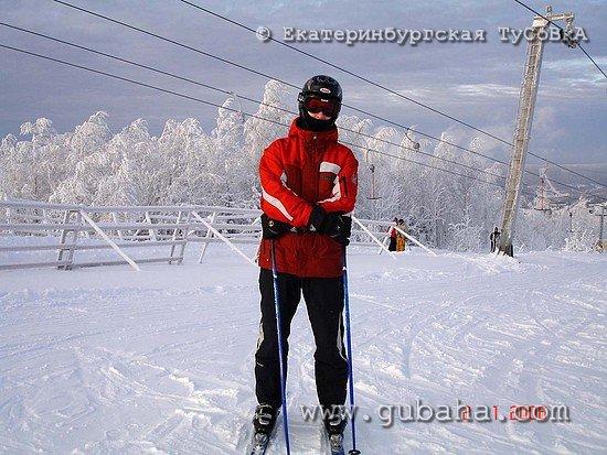 Губаха photo085.jpg Екатеринбург в Губахе Горнолыжный центр Губаха горные лыжи сноуборд Город Губаха Фото