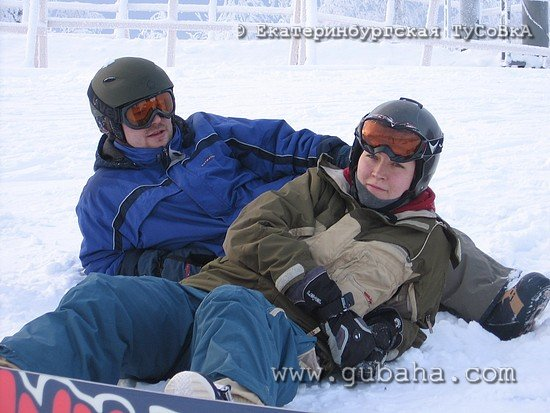 Губаха photo091.jpg Екатеринбург в Губахе Горнолыжный центр Губаха горные лыжи сноуборд Город Губаха Фото