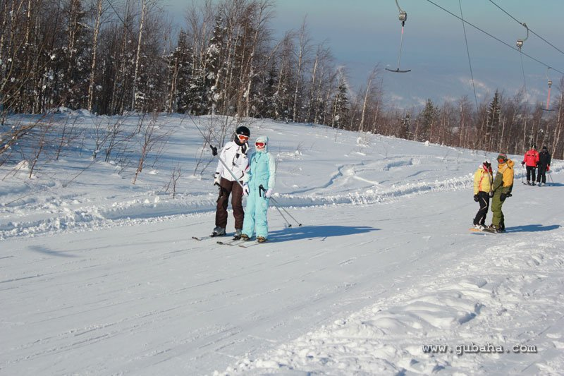 Губаха gubakha_32.jpg ГЛЦ Губаха - февраль 2011 Горнолыжный центр Губаха горные лыжи сноуборд Город Губаха Фото