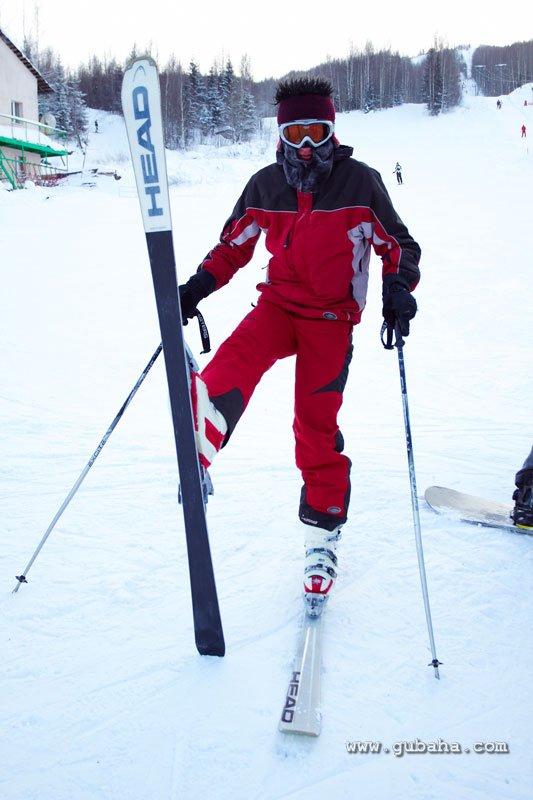 Губаха gubakha_2010_2011_016.jpg ГЛЦ Губаха - декабрь 2010 январь 2011 Горнолыжный центр Губаха горные лыжи сноуборд Город Губаха Фото