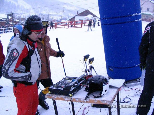 Губаха 07.jpg Рождественский Кубок Губахи 2011 Горнолыжный центр Губаха горные лыжи сноуборд Город Губаха Фото