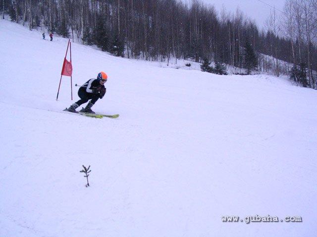 Губаха 40.jpg Рождественский Кубок Губахи 2011 Горнолыжный центр Губаха горные лыжи сноуборд Город Губаха Фото