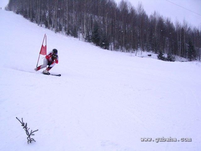 Губаха 45.jpg Рождественский Кубок Губахи 2011 Горнолыжный центр Губаха горные лыжи сноуборд Город Губаха Фото