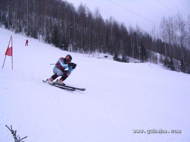 Губаха 47.jpg Рождественский Кубок Губахи 2011 Горнолыжный центр Губаха горные лыжи сноуборд Город Губаха Фото