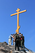 Губаха | krest 0037.jpg | Шествие на гору Крестовую 2011 | Горнолыжный центр Губаха горные лыжи сноуборд Город Губаха Фото