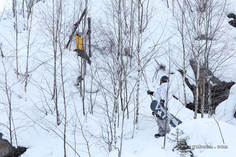 Губаха gubaha_2011_2012_0394.jpg ГЛЦ Губаха - сезон 2011-2012 Горнолыжный центр Губаха горные лыжи сноуборд Город Губаха Фото