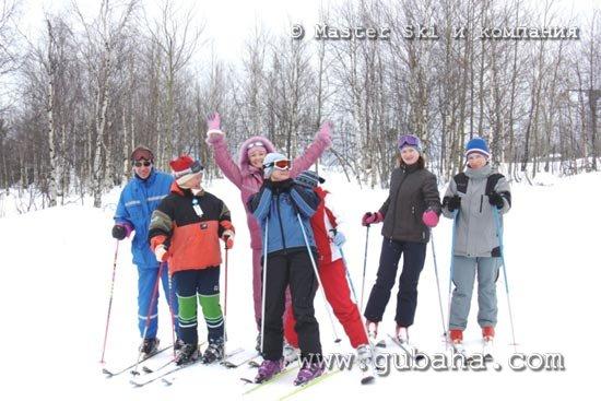 Губаха photo22.jpg Ярославль в Губахе Горнолыжный центр Губаха горные лыжи сноуборд Город Губаха Фото