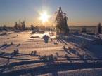 Губаха | gora krestovaya 08.jpg | Гора Крестовая - декабрь 2008 | Горнолыжный центр Губаха горные лыжи сноуборд Город Губаха Фото