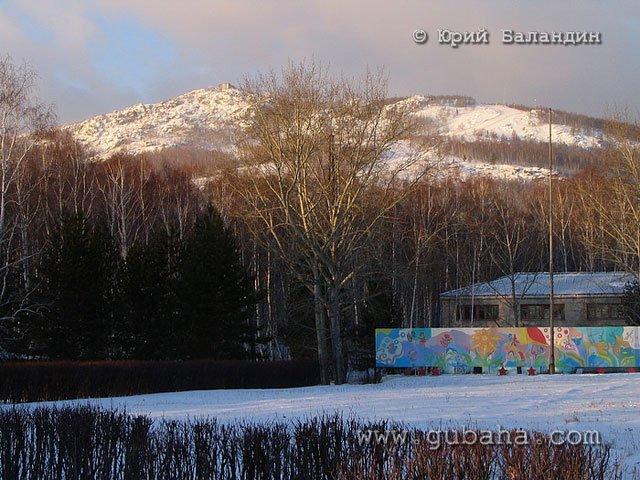Губаха foto27.jpg Банное и Абзаково декабрь 2006 Горнолыжный центр Губаха горные лыжи сноуборд Город Губаха Фото