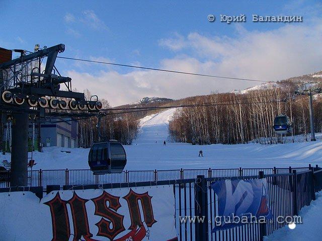 Губаха foto36.jpg Банное и Абзаково декабрь 2006 Горнолыжный центр Губаха горные лыжи сноуборд Город Губаха Фото