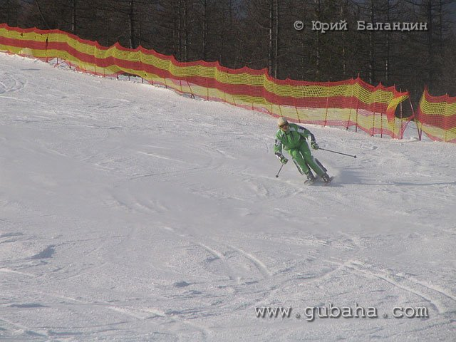 Губаха foto57.jpg Банное и Абзаково декабрь 2006 Горнолыжный центр Губаха горные лыжи сноуборд Город Губаха Фото