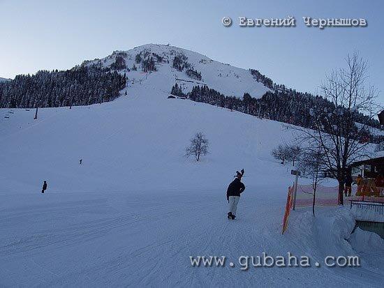 Губаха photo23.jpg Австрия - январь 2006 Горнолыжный центр Губаха горные лыжи сноуборд Город Губаха Фото