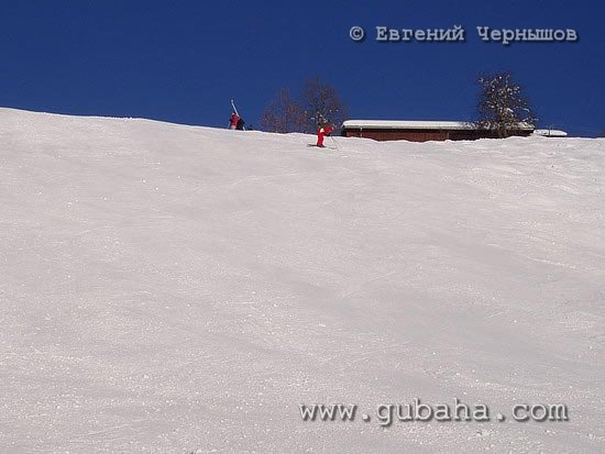 Губаха photo25.jpg Австрия - январь 2006 Горнолыжный центр Губаха горные лыжи сноуборд Город Губаха Фото