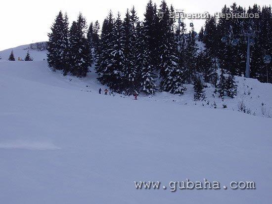 Губаха photo35.jpg Австрия - январь 2006 Горнолыжный центр Губаха горные лыжи сноуборд Город Губаха Фото
