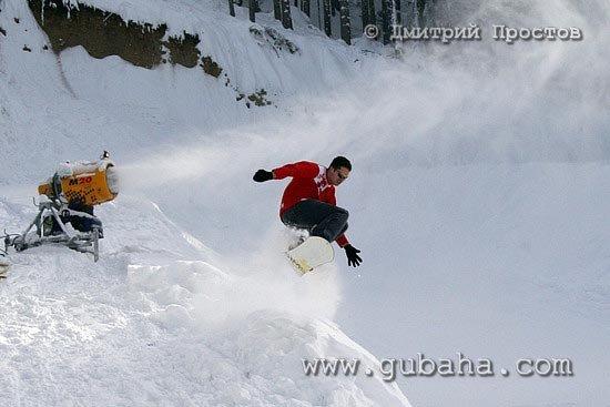 Губаха photo35.jpg Банско - январь 2006 Горнолыжный центр Губаха горные лыжи сноуборд Город Губаха Фото