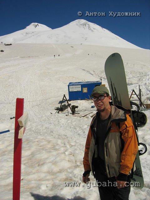 Губаха 047.jpg Домбай 2 - июнь 2006 Горнолыжный центр Губаха горные лыжи сноуборд Город Губаха Фото