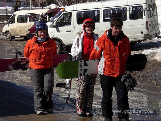Губаха dombay20.jpg Домбай 4 - декабрь 2007 Горнолыжный центр Губаха горные лыжи сноуборд Город Губаха Фото