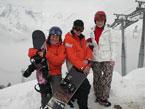 Губаха | dombay02.jpg | Домбай 4 - декабрь 2007 | Горнолыжный центр Губаха горные лыжи сноуборд Город Губаха Фото