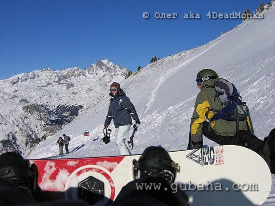 Губаха photo008.jpg Франция - январь 2006 Горнолыжный центр Губаха горные лыжи сноуборд Город Губаха Фото