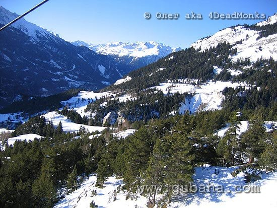 Губаха photo011.jpg Франция - январь 2006 Горнолыжный центр Губаха горные лыжи сноуборд Город Губаха Фото