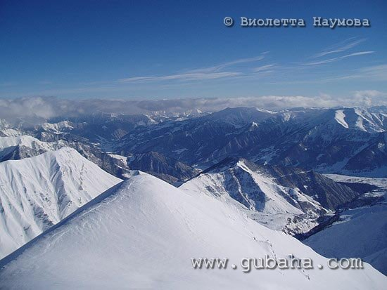 Губаха foto03.jpg Гудаури Грузия Горнолыжный центр Губаха горные лыжи сноуборд Город Губаха Фото