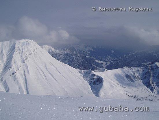 Губаха foto04.jpg Гудаури Грузия Горнолыжный центр Губаха горные лыжи сноуборд Город Губаха Фото