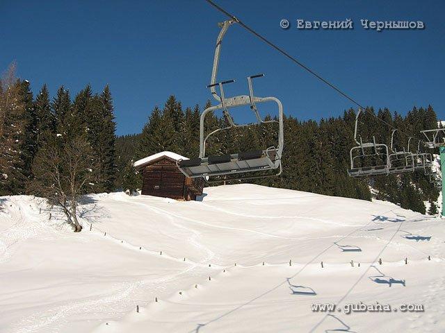 Губаха italy07.jpg Итальянские Альпы январь 2008 Горнолыжный центр Губаха горные лыжи сноуборд Город Губаха Фото