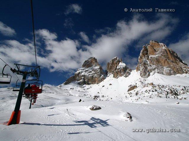 Губаха ski_italy_68.jpg Италия - март 2008 Горнолыжный центр Губаха горные лыжи сноуборд Город Губаха Фото