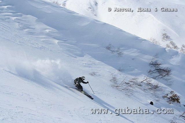 Губаха 09.jpg Камчатка - Хелиски Горнолыжный центр Губаха горные лыжи сноуборд Город Губаха Фото
