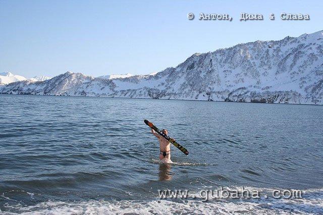 Губаха 30.jpg Камчатка - Хелиски Горнолыжный центр Губаха горные лыжи сноуборд Город Губаха Фото