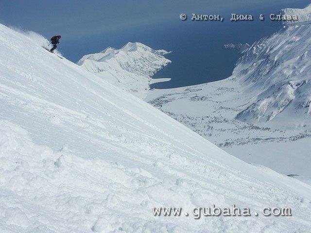 Губаха 69.jpg Камчатка - Хелиски Горнолыжный центр Губаха горные лыжи сноуборд Город Губаха Фото