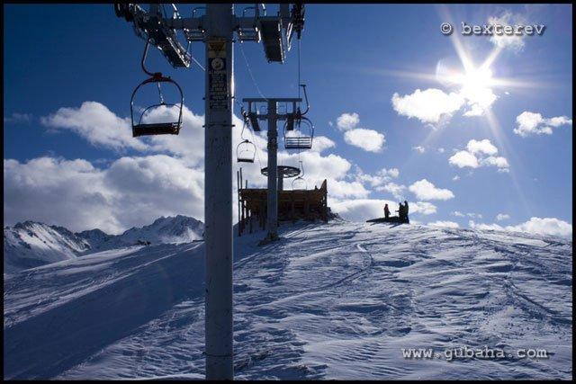 Губаха 23.jpg Каракол - январь 2009 Горнолыжный центр Губаха горные лыжи сноуборд Город Губаха Фото