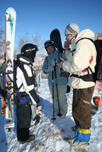 Губаха | kazakhstan08.jpg | Казахстан - январь 2008 | Горнолыжный центр Губаха горные лыжи сноуборд Город Губаха Фото