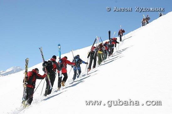 Губаха photo07.jpg Тур Большой Кавказ Горнолыжный центр Губаха горные лыжи сноуборд Город Губаха Фото