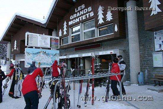 Губаха photo21.jpg Шамони - январь 2006 Горнолыжный центр Губаха горные лыжи сноуборд Город Губаха Фото
