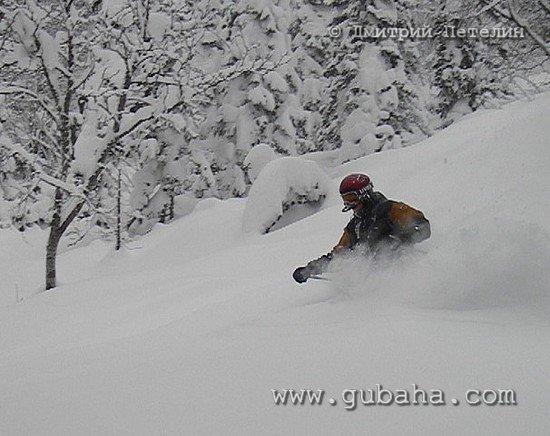 Губаха photo18.jpg Шерегеш ноябрь 2005 Горнолыжный центр Губаха горные лыжи сноуборд Город Губаха Фото