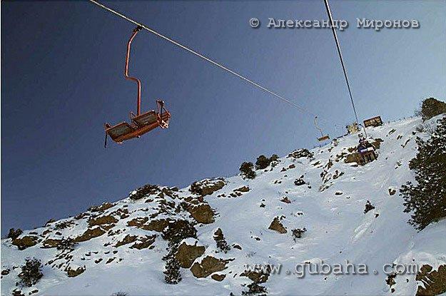Губаха foto12.jpg Узбекистан - январь 2007 Горнолыжный центр Губаха горные лыжи сноуборд Город Губаха Фото