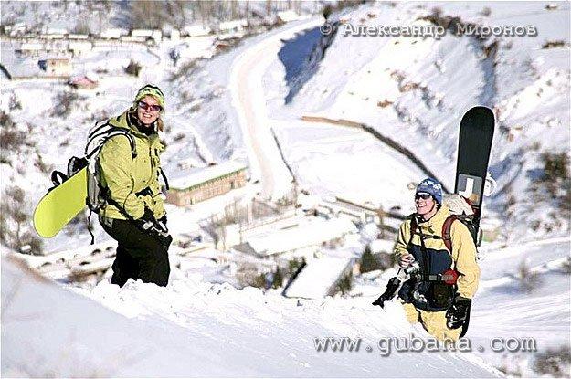 Губаха foto20.jpg Узбекистан - январь 2007 Горнолыжный центр Губаха горные лыжи сноуборд Город Губаха Фото