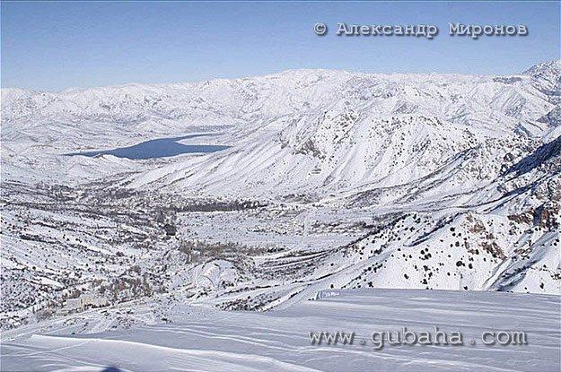 Губаха foto23.jpg Узбекистан - январь 2007 Горнолыжный центр Губаха горные лыжи сноуборд Город Губаха Фото