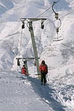 Губаха | foto01.jpg | Узбекистан - январь 2007 | Горнолыжный центр Губаха горные лыжи сноуборд Город Губаха Фото