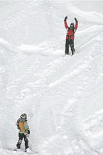 Губаха | foto11.jpg | Узбекистан - январь 2007 | Горнолыжный центр Губаха горные лыжи сноуборд Город Губаха Фото