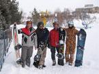 Губаха | photo02.jpg | Узбекистан - январь 2008 | Горнолыжный центр Губаха горные лыжи сноуборд Город Губаха Фото