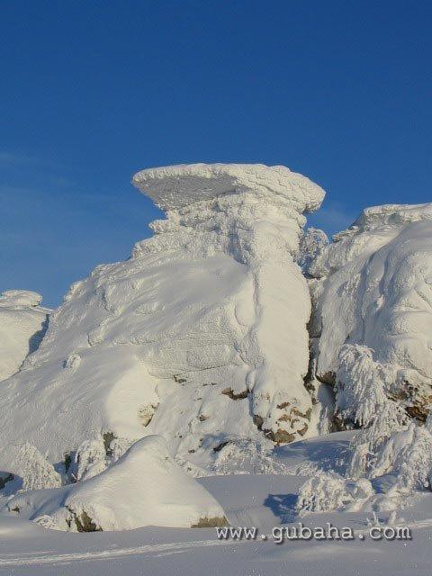 Губаха priroda04.jpg Природа Губахи - зима Горнолыжный центр Губаха горные лыжи сноуборд Город Губаха Фото