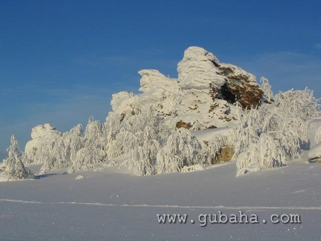 Губаха priroda22.jpg Природа Губахи - зима Горнолыжный центр Губаха горные лыжи сноуборд Город Губаха Фото