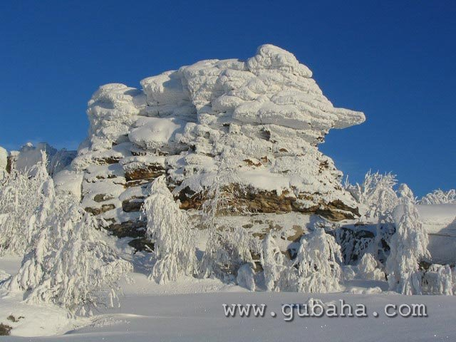 Губаха priroda23.jpg Природа Губахи - зима Горнолыжный центр Губаха горные лыжи сноуборд Город Губаха Фото