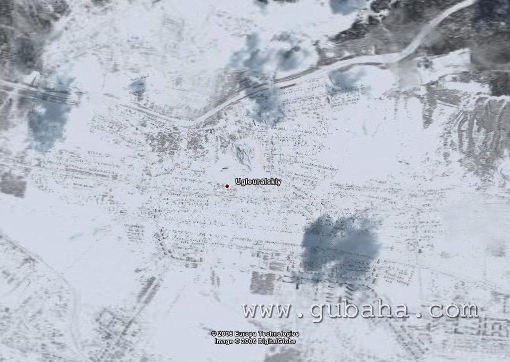 Губаха 003.jpg 2006 год Горнолыжный центр Губаха горные лыжи сноуборд Город Губаха Фото Углеуральский
