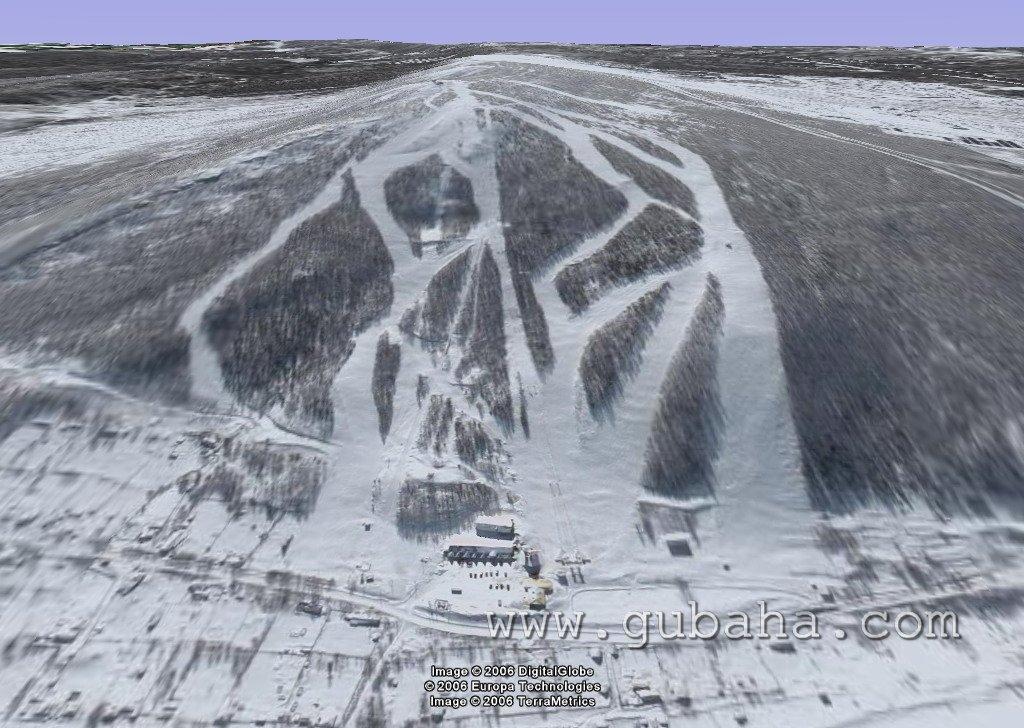 Губаха 016.jpg 2006 год Горнолыжный центр Губаха горные лыжи сноуборд Город Губаха Фото Горнолыжный центр 3D