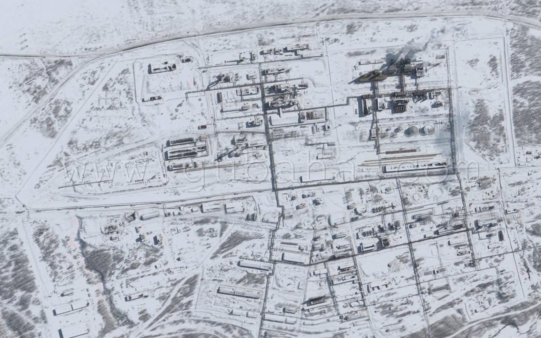 Губаха 023.jpg 2006 год Горнолыжный центр Губаха горные лыжи сноуборд Город Губаха Фото ОАО Метафракс (большое фото)