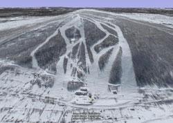 Губаха | 016.jpg | 2006 год | Горнолыжный центр Губаха горные лыжи сноуборд Город Губаха Фото